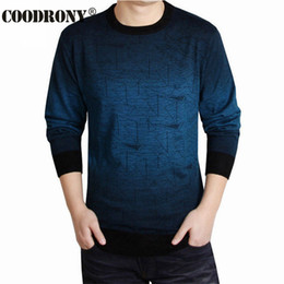 Wholesale T Shirt Sweater Dress - Cashmere Sweater Men Brand Clothing Mens Sweaters Fashion Print Hang Pye Casual Shirt Wool Pullover Men Pull O-Neck Dress T