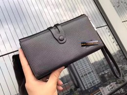Wholesale Coin Holders Banks - Italian Men's Wallets Black Size 2 * 11 * 14 Model 173894505 High Quality Internal Medicine Bank Open 2017 Latest Style