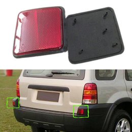 Wholesale Light R Tail - 2PCS For Ford Escape 04-07 L&R Car Tail Light Cover NO BULBS Rear Warn Fog Lamp