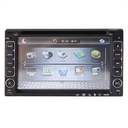 """Wholesale Two Din Dvd - universal 2 two double Din 6.2"""" inch Car DVD player,audio Radio stereo video,USB SD,Bluetooth TV,AM FM,AUX,digital touch screen camera input"""