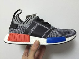 Wholesale Outdoor Table Runners - 2017 Cheap Wholesale NMD R1 Runner Primeknit PK Men's & Women's Sports Outdoors boost men Athletic Running shoes sneaker Shoes sports Shoes