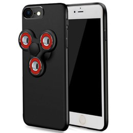 Wholesale Fingertip Covers - Handget Gyro Back Cover Fingertip Gyro Cell Phone Cases All-inclusive Drop-resistant Decompression Gyro Toys Scrub Style Hard Shell