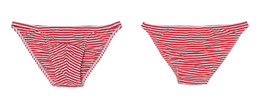 Wholesale Cotton Stripe Panties - Fashion stripe male triangle panties stripe cotton plus size XXL mens sexy briefs comfortable small belts bikini underwear men