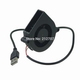 ventilador superred 12v Rebajas Al por mayor-5PCS Gdstime Mini DC 5V 60x15mm 60mm Negro sin escobillas Ventilador Ventilador USB 6015S