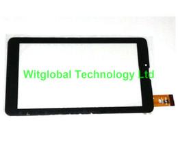 """Prestigio tablet digitalizador online-Venta al por mayor- Película gratis + Nuevo 7 """"Prestigio MultiPad PMT3038_3G Wize 3037 Tablet Panel de pantalla táctil Digitalizador Sensor de vidrio Envío gratis"""