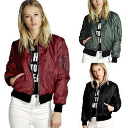 Vente en gros-élégant Femmes Dames Vêtements Tops Vestes Automne Manteaux Tenues Casual Zip Up Biker Manteau Femmes Vêtements Plus Grande Taille ? partir de fabricateur