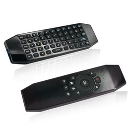 Wholesale Touch Learning - T5 2.4G Fly Air Mouse Mini Wireless Keyboard Remote Control For Smart Android TV BOX MXQ IR Remote Learning Motion Game Controller