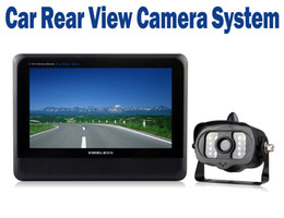 "Wholesale Wireless Parking Camera Rearview Mirror - 2.4GHz 7"" TFT Wireless Rear Car View Camera Auto Parking Rearview Color Monitor Car Rear View Mirror With Bracket"