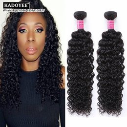 Wholesale Indian Jerry - Brazilian Curly Human Hair Weaves Bundles Unprocessed 8A Peruvian Malaysian Indian Cambodian Mongolian Jerry Kinky Curly Hair Extensions