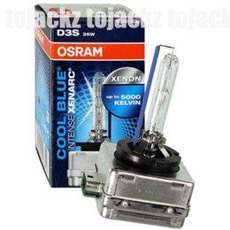 Wholesale Xenon Light Bulbs 35w - NEW HOT ONE PAIR OSRAM XENARC D3S 35W 66340CBI Cool Blue 5000K HID XENON LIGHT BULB