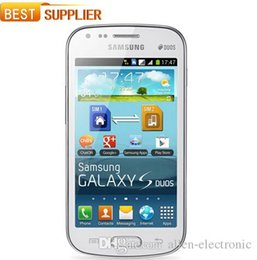 Wholesale Galaxy S Phones - 2016 Sale Direct Selling S7562 Original Samsung Galaxy S Duos S7562 Dual Sim Cards 4.0 Wifi Gps 5mp Camera Unlocked Cell phone
