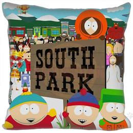 Wholesale Park Case - Wholesale- Custom Hot Sale South park quare Pillowcases zipper Custom Pillow Case 20x20cm 35x35cm 40x40cm