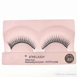 Wholesale Glamour Eyes - New Reusable Up to 4 Weeks Glamour Curved Eye lashes Tapered Strip lashes shorter near the inner eye