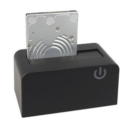 Дисковые футляры онлайн-Wholesale- External Hard Drive Enclosure Case Box2.5/3.5inch SATA SSD HDD Disk Case USB3.0