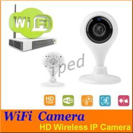 cámaras de control de sonido Rebajas Más barato Wifi Cámara IP HD 720P P2P Mini Monitor de Bebé Inalámbrico para Seguridad en el Hogar soporte de Visión Nocturna + paquete minorista DHL gratis 20pcs