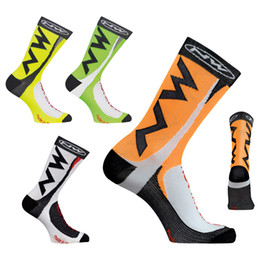 Wholesale Wicking Running Socks - High quality Professional brand sport socks Protect feet breathable wicking socks fashion style cycling NW bike sock
