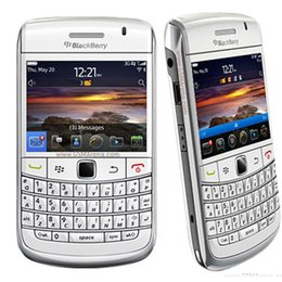 Wholesale Blackberry 3g Mobile - Original Blackberry 9780 Blackberry OS 3G Mobile Phone With 2.44Inch Screen 512MB RAM 5.0MP Camera WIFI GPS Refurbished Unlocked Phones