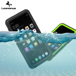 Wholesale Iphone Dust Proof - Waterproof Case For iPhone 8 7 6 6s Plus Samsung Galaxy Note8 S8 Plus Case Water Dust Resistant Drop-proof Diving Mobile Cover