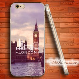 Wholesale London Iphone Case 4s - Fundas London City Soft Clear TPU Case for iPhone 6 6S 7 Plus 5S SE 5 5C 4S 4 Case Silicone Cover.