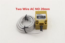 Wholesale switching transducer - Wholesale- 5Pcs TL-N20MY1 AC Two Wire NO 20mm proximity transducer switch sensor