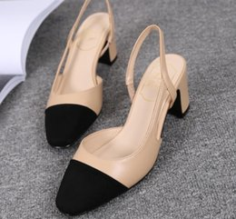 Wholesale Ladies Summer Top Medium - 2017 New arrival trend classic sexy elegant protection soft top quality sexy Stitching leather ladies shoes