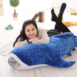 Wholesale jumbo plush stuffed animals - 2017 High quality 150cm Jumbo Stuffed Soft Animal Whale Doll Plush Large Bluewhale Toy Nice Gift