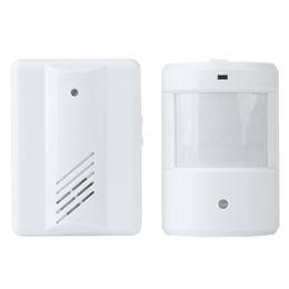 Wholesale Wireless Motion Detector Alarm System - Wireless Remote Motion Sensor Detector Driveway Garage Alarm Alert Secure System Kit Patrol Doorbell Wireless Detector