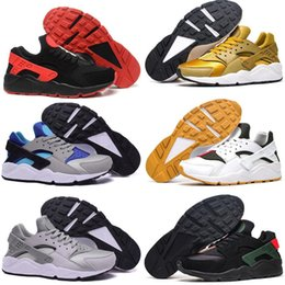 Wholesale Leather Shoes For Woman Prices - 2017 Ultra low price Wholesale Hot Air Huarache Running Shoes For Womens Men, Cheap Original Quality Hot Air Huaraches Women Men Shoes
