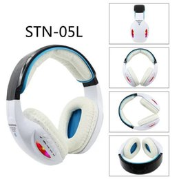 Wholesale Dj Headphones High Performance - STN-05L Stereo Wireless LED Headphone Headsets Noise cancelling Bluetooth DJ Headphones High Performance with FM With Retail box