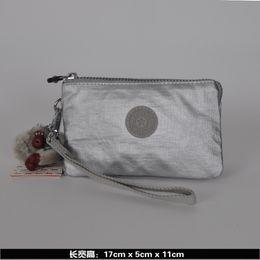 Wholesale Coin Change - 2016 New Fashion Nylon Women Big Wallet Handbag Coin Purses Pouch Organizer Changing Purse kiple style carteira feminina bolsa Free Shipping