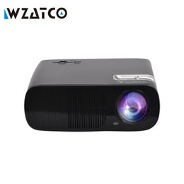 Wholesale Cheap Led Tvs - Wholesale-ATCO Cheap Portable LED TV Projector proyector Home cinema LCD Projetor HDMI USB beamer 3000Lumens for home theater