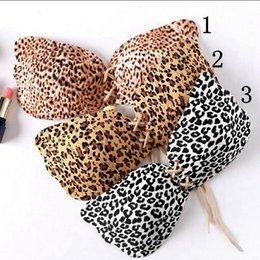 Wholesale Breast Shape Up - Leopard Invisible Silicone Push Up Bra Adjustable Bra Women Instant Breast Lift Strapless Angel Wing Shape Backless Bras 100pcs