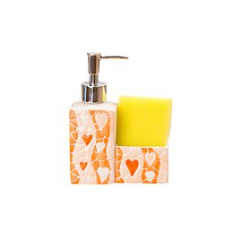 Wholesale Chrome Bottle - Elegent Ceramic Bathroom Set Soap Dish Storage Box Bathroom Decor Toothpaste Holder Dispenser Hand Wash The Bottle