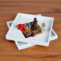 cartões de natal musicais Desconto Hight Qualidade Postal Caixa De Madeira De Desktop Cosméticos Revista De Armazenamento De Madeira Placa