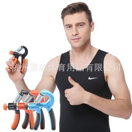 Wholesale Cotton Processing - Hand Grips Two-color Grip Adjust Cotton Sets Refers To The Type OEM Processing Fitness Equipment Colorful Fashion 9hb
