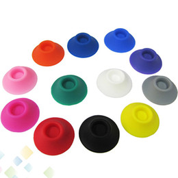 Wholesale E Cigarette Holder Sucker - Tight Abosorb Silicone Suckers Ego Sucker Ego Base Suction Cup Ego Holder Display Stands Portable E-cigarette Rubber Caps Pen Holder