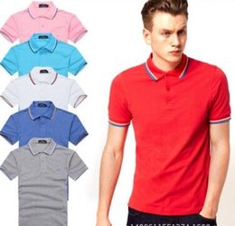 Wholesale Men S Polo Tshirt - 983 Luxury Mens Mon polo Brand British t shirt Summer short sleeve tshirt marque luxe homme Franch men Costume Clothing m-xxl size