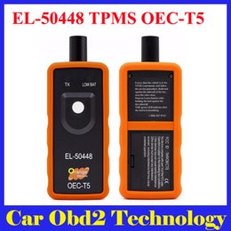 Wholesale Auto Tire Pressure Monitor - Best Quality Auto El-50448 Auto Tire Pressure Monitor Sensor TPMS Reset Tool OEC-T5 for GM Series Vehicle EL50448 EL 50448 Free Shipping