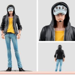 Wholesale Oem Toys - OEM figure toys One Piece cotton doll Jeans Freak Trafalgar Law figure good gift and collection anime toys figma