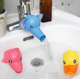 Wholesale Accessories For Bathrooms - Lovely Cartoon Faucet Extender For Kid Children Kid Hand Washing in Bathroom Sink Accessories