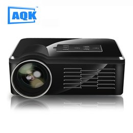 Wholesale atco projectors - Wholesale-Led TV Projectors Portable LED Video TV Beamer Projector for Home Theater Cinema Multimedia Player with HDMI  AV VGA SD USB ATCO