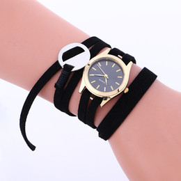 Wholesale Simple New Dress For Girls - 2016 small dial simple designs women leather watch fashion casual ladies girls dress quartz leisure bracelet watches for women