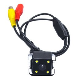 Wholesale Toyota Backup Cameras - LEEWA Special Car Backup Rear View Camera With LED For Toyota Camry 2009-2012 Reversing Camera # 4200