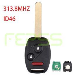 Wholesale Pilot Keys - Replacement Remote Car Key Fob 3 button CWTWB1U545 313.8MHZ ID46 for Honda 2005 2006 2007 2008 2009 Fit Sport Pilot