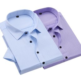 Wholesale Rice Toppings - Tops Summer Rice grain Mens Short Sleeve Shirts Formal Shirts 4xl Polyester Clothing