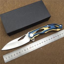 2019 dessus des couteaux de chasse tactiques Date de pliage couteau tromperie II 9CR18 balde utilitaire en plein air couteau de chasse camping survie couteau tactique top qualité EDC OUTIL