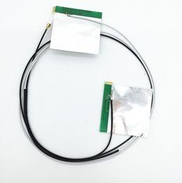 Оптовая Бесплатная доставка ноутбук беспроводной мини PCI PCI-E WIFI Bluetooth внутренняя антенна белый 70 см + черный 55 см от