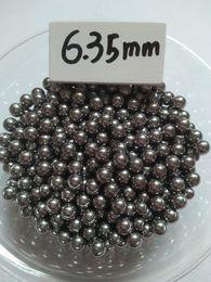Wholesale Slingshot Shooting - Bearing steel ball G10 500 qty 6.35 mm Steel Shot Slingshot Ammo Balls