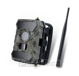Wholesale Ir Game Cameras - NEW S880G 12MP HD 1080P Digital Hunting Camera 940NM Trail Game Camera 3G Network SMS MMS Night Vision 56pcs IR LED Ann