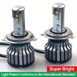 Wholesale Conversion Sets - 1 Set 80W 7200LM H4 9003 HB2 Hi Lo Beam LED Headlight Bulbs White 6000K CREE Conversion Kit XXL for Cars DC 8V-48V